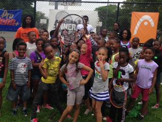Inner City Tennis Clinics