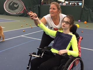 A.H. Sports Hunter Heck and Lynn Bender Youth Wheelchair Tennis Grant Now Available