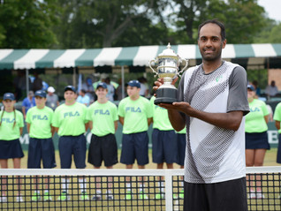 ATP Tennis Player and Former MYTEF Grant Recipient Rajeev Ram Wins Second Singles Title