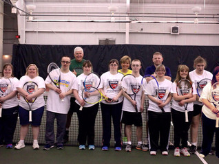 Tennis Buddies at Evergreen Racquet Club Receives $3,500 Grant