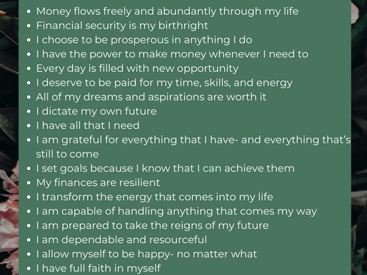 30 Money Affirmations to Help You Meet Any Goal