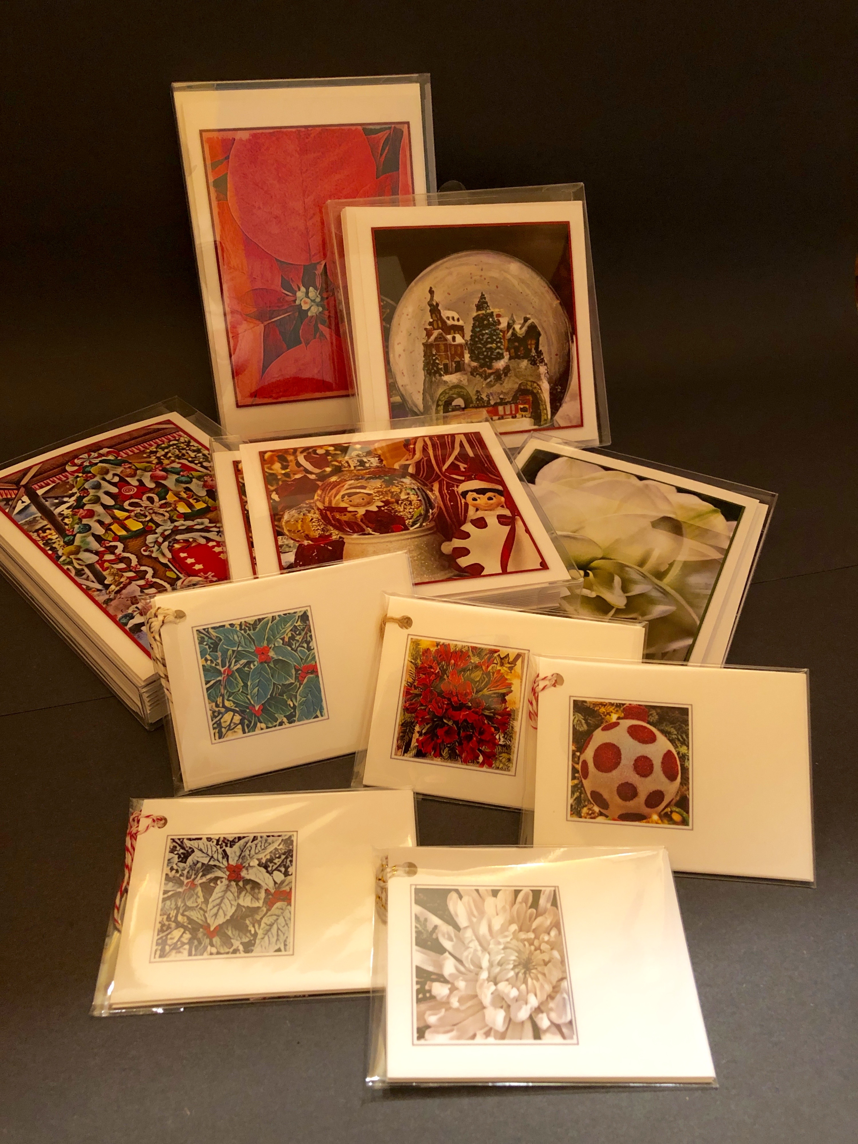 Note cards, boxed cards, gift tags