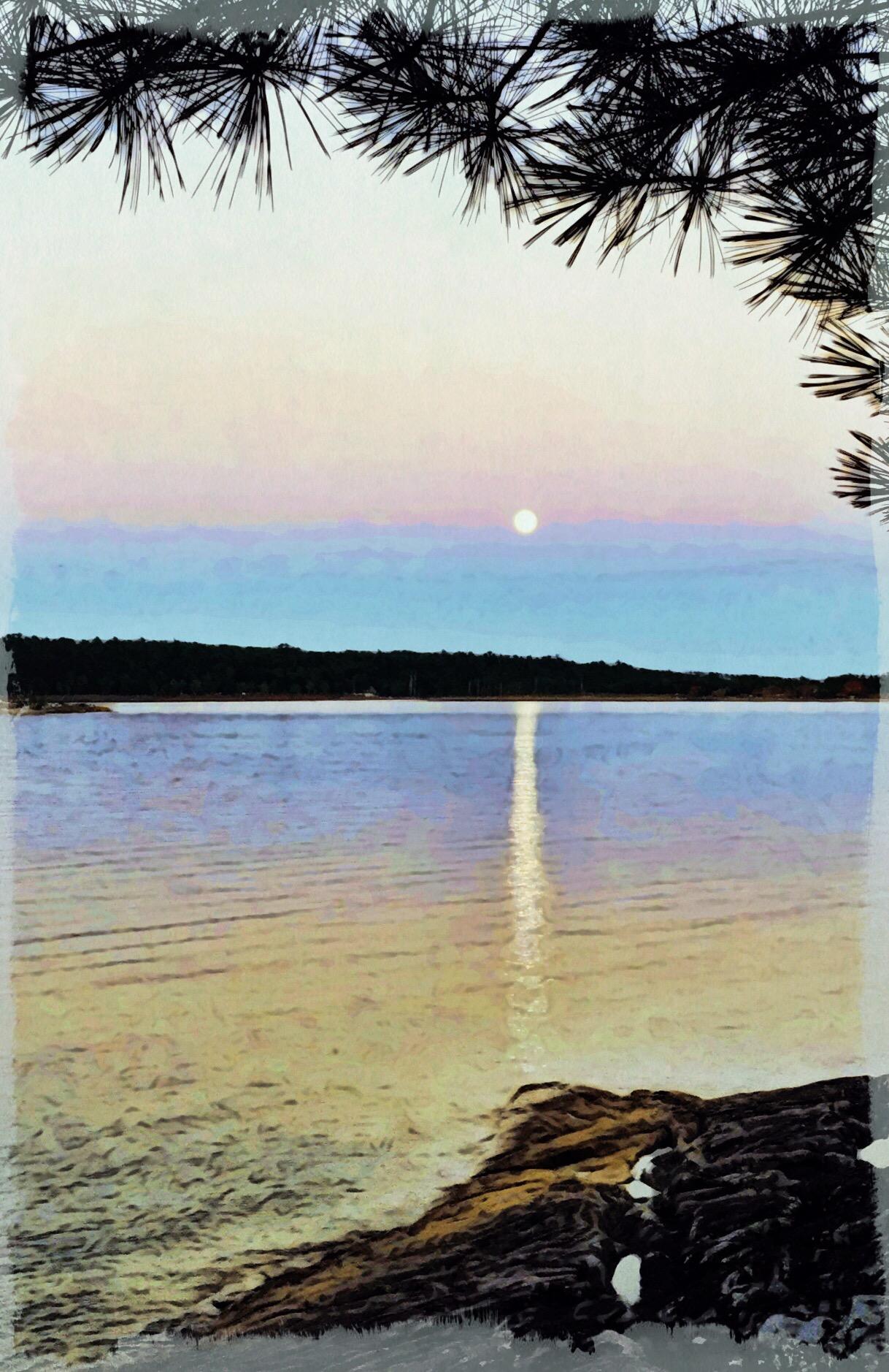 Superior Moonrise