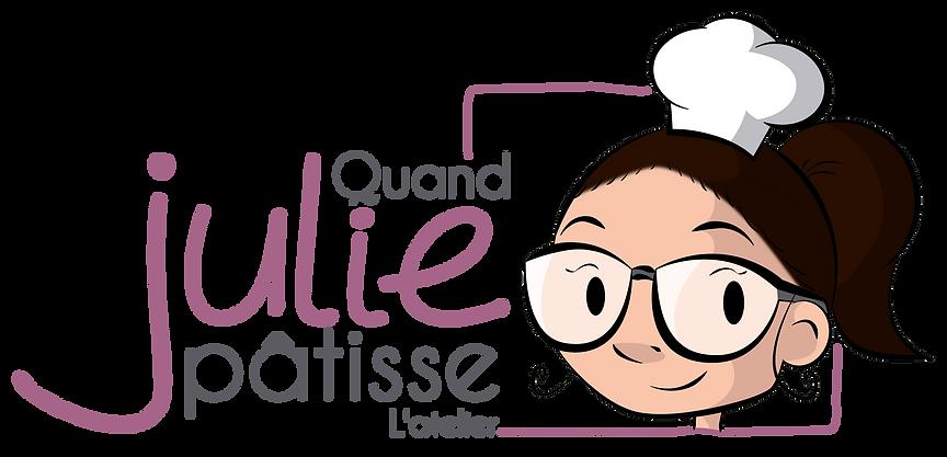 Logo de Quand Julie Pâtisse L'atelier.