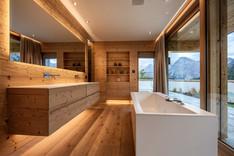 Badezimmer, Holz