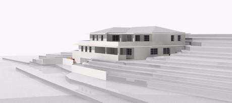 Entwurf, Terrassenhaus