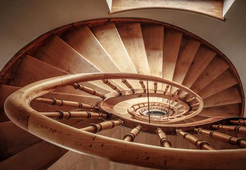 treppe, sanierung, bestand
