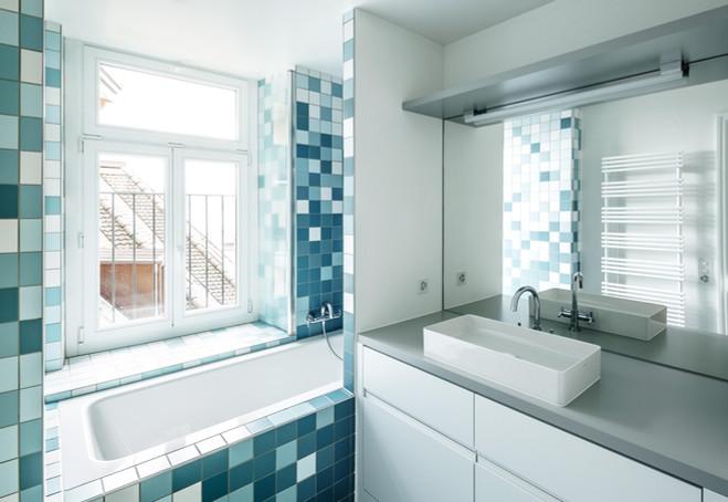 sanierung, badezimmer, bathroom, vintage, denkmalgeschützt, art deco
