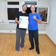 10.Schülergrad für Tobias Stuber
