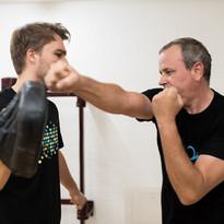 Handpratzen Training