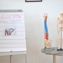Vortrag Muscle Flow Schmerztherapie Ausrüstung