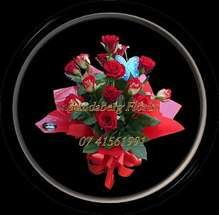 Bundaberg Florist, Roses, red,