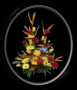 Modern Europiean Flower arrangement