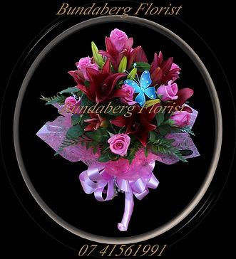 Seduction,Roses, Lilies,  Flower, Arrangement