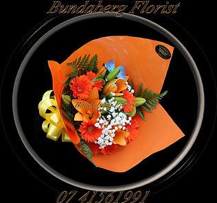 Sympathy Flower Bouquet, Bundaberg