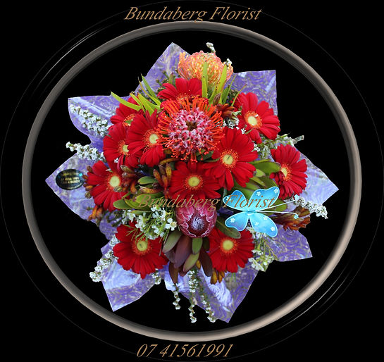 Native Flowers, Gerberas, BundabergFlorist,