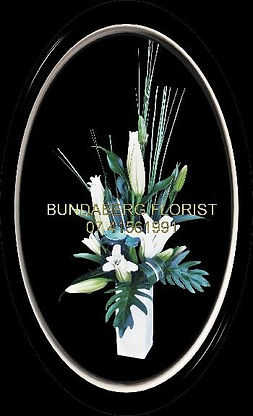 Bundaberg Florist, arrangement in a vase,