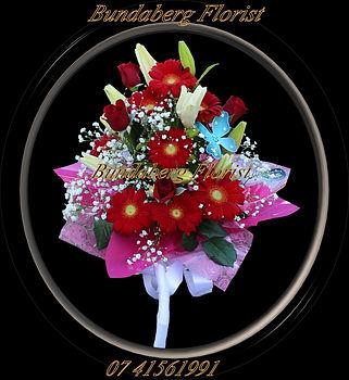 Babys Breath, Lilies, Roses, Gerberas,
