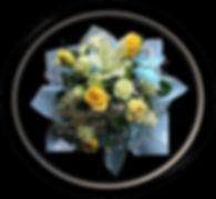 Lilies, Carnations, Babys Breath, Blue Butterfly,Bundaberg,