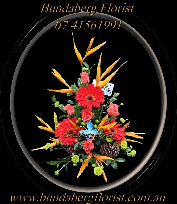 Bundaberg Florists Christmas Flowers-Christmas Wish