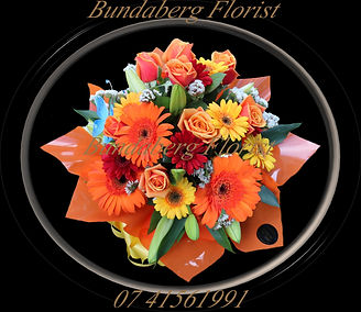 Flowers Bundaberg, mixed flower arrangement,