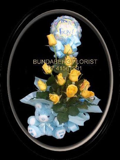 Baby Boy, Base Hospital Florist, hospital flower delivery,