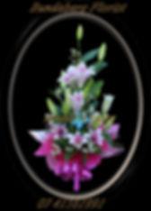 Liliy flower arrangement Bundaberg