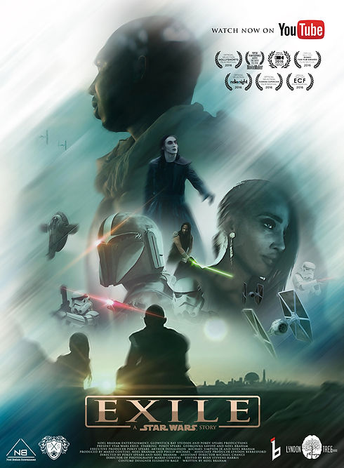 USE THIS ONE KS - Star Wars Exile Poster