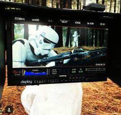 Behind the scenes of Star Wars Exile