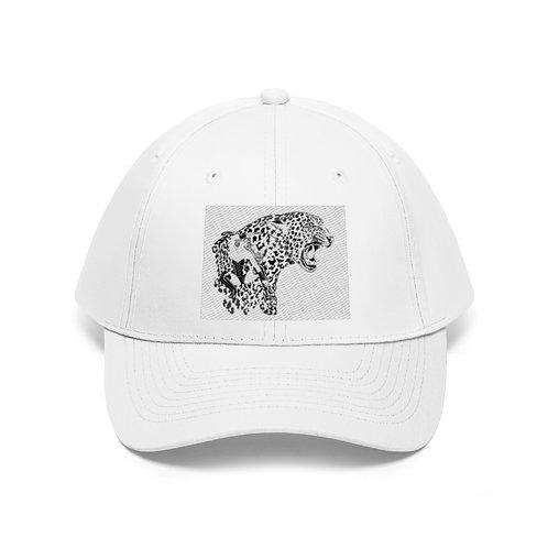 Phoenix the Jaguar Unisex Twill Hat
