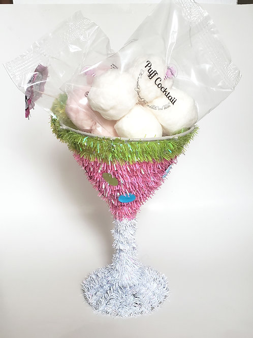4 Infused Glitter Coctails Puff