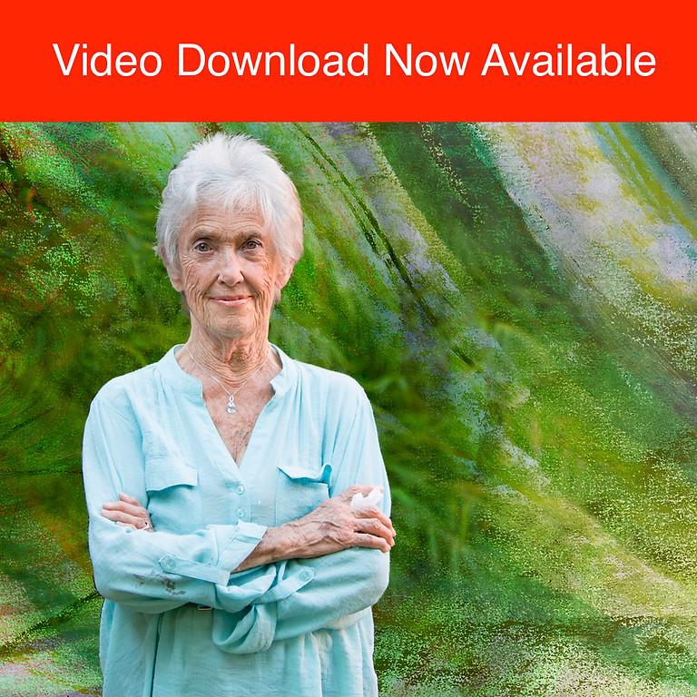 "Joanna Macy & Terry Symens-Bucher ""The Necessary Passage Through Wilderness"""