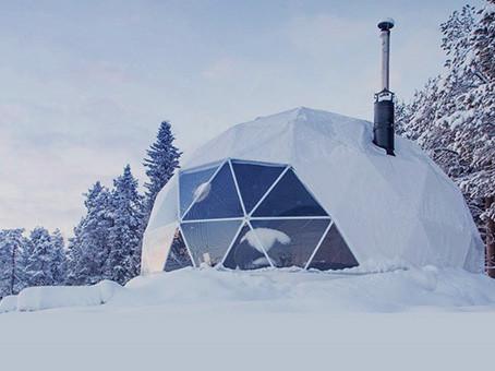 Дом из алюминия и стекла для Арктики