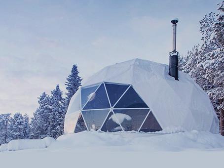Дома для Арктики из стекла и алюминия