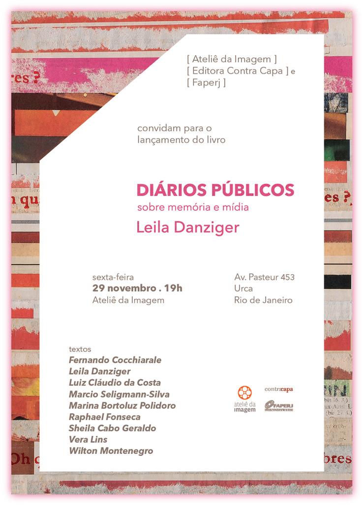 Lançamento Diários públicos | 29 de novembro | ateliê da imagem