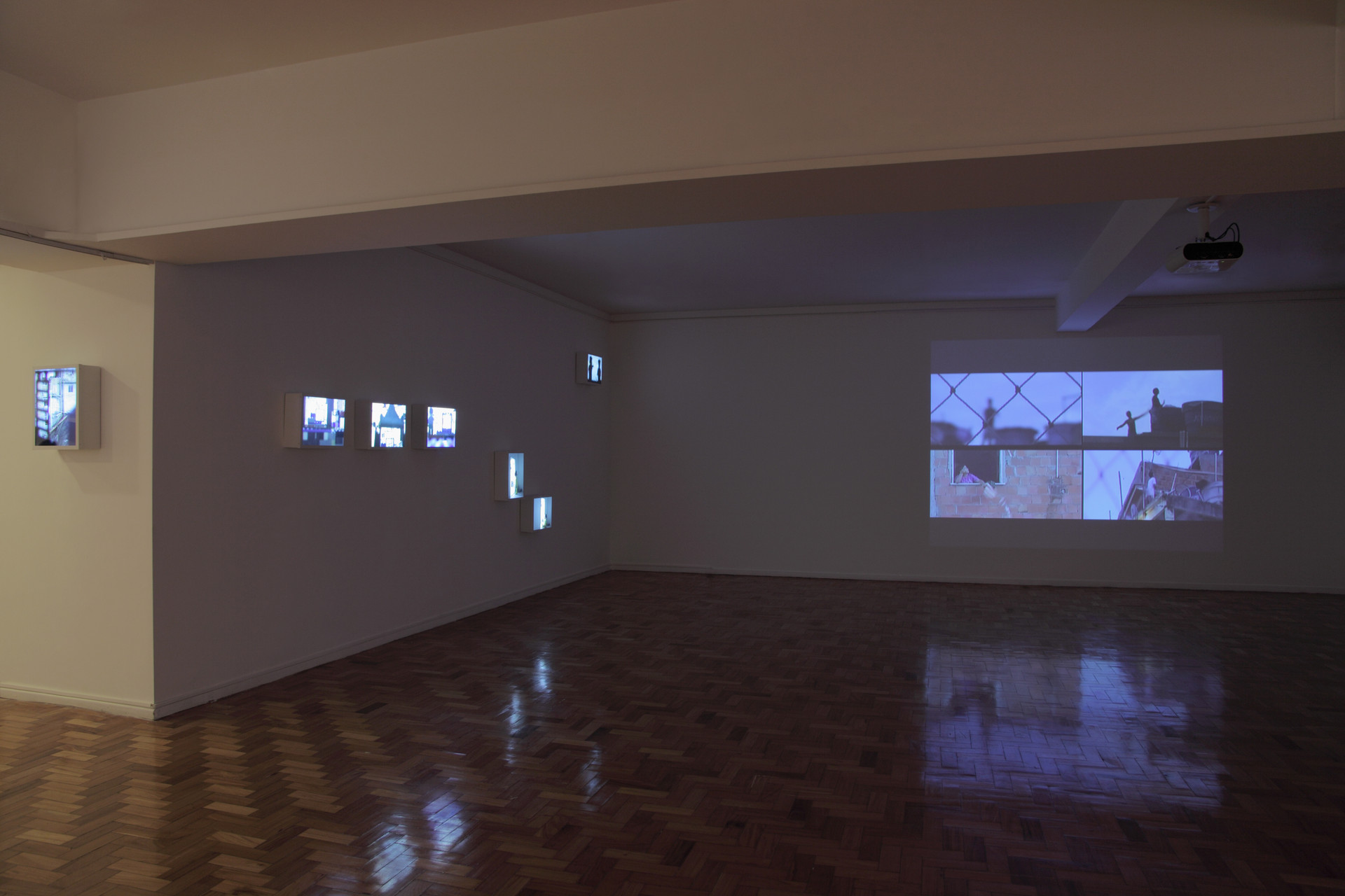 Edifício Líbano, vista parcial da exposição