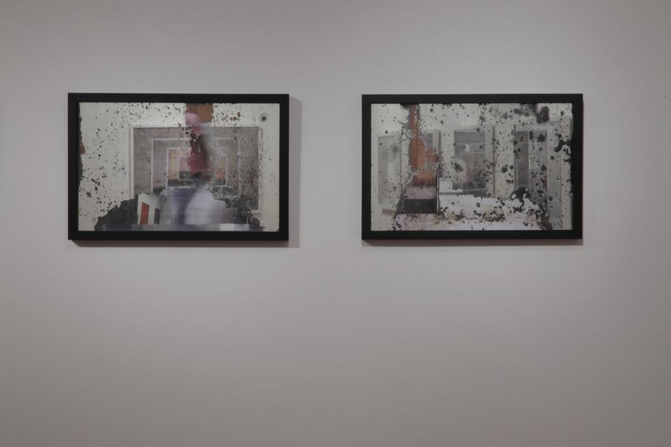 Edifício Líbano [2011], fotografias e espelhos de 1938, 50 x 70 cm.