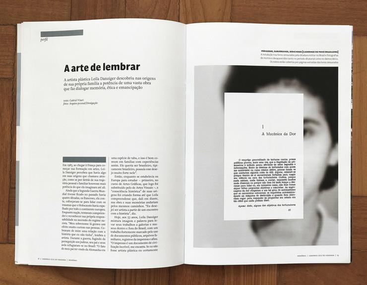 Cadernos Sesc de Cidadania | Direito à memória | 2019