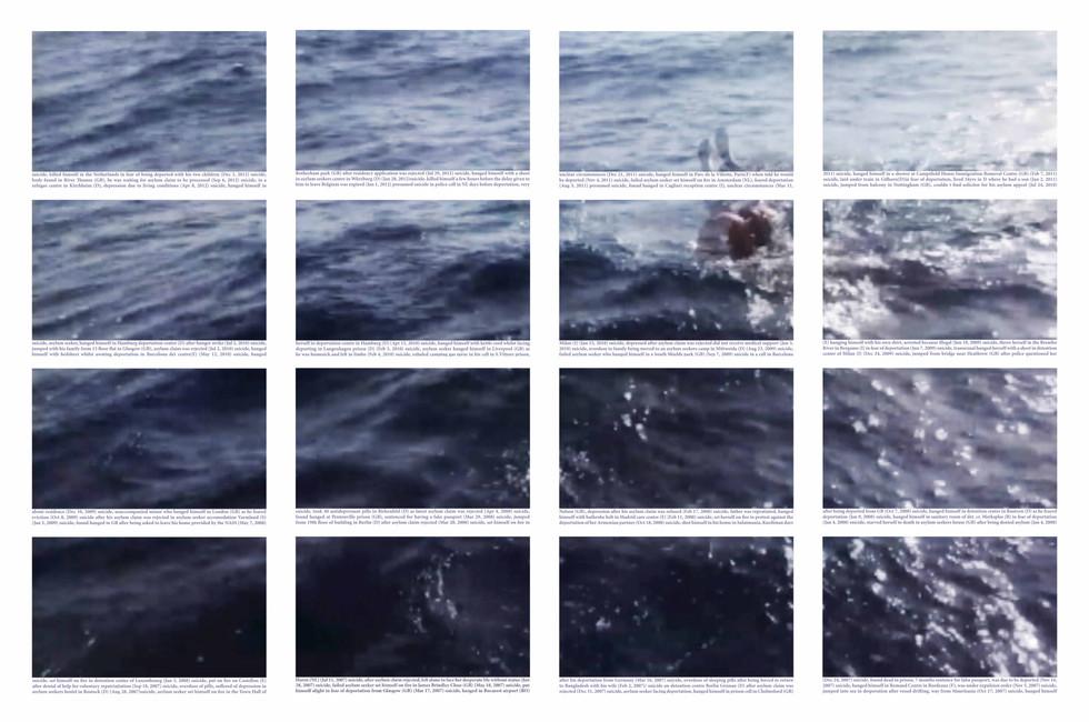 Mediterrâneo | Mediterranean #4 [2018] Impressão jato de tinta sobre papel de algodão | inkjet printout on cotton paper, 160 x 106 cm