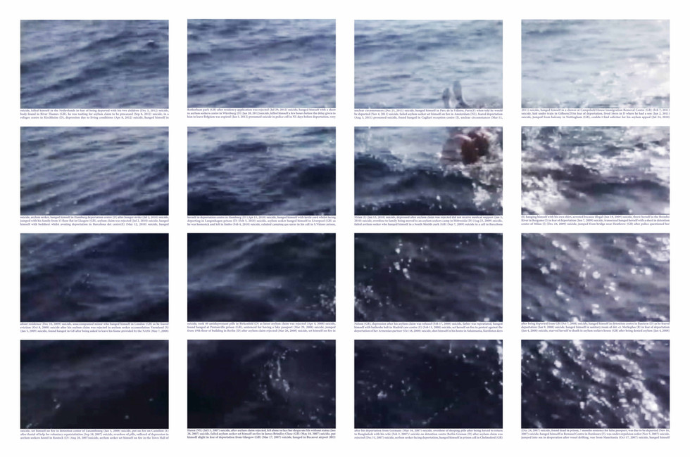 Mediterrâneo   Mediterranean #4 [2018] Impressão jato de tinta sobre papel de algodão   inkjet printout on cotton paper, 160 x 106 cm