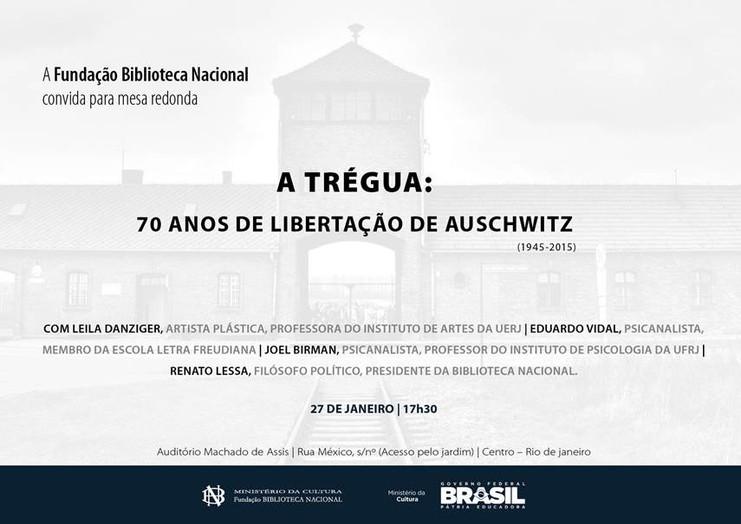 A trégua | 70 anos da liberação de Auschwitz