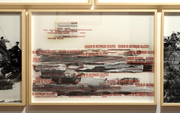 Shangri-la [2018], fita adesiva e fotocópia   scotch tape and phocopy, 60 x 80 cm