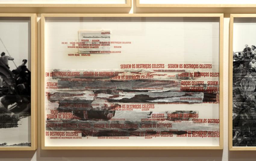 Shangri-la [2018], fita adesiva e fotocópia | scotch tape and phocopy, 60 x 80 cm