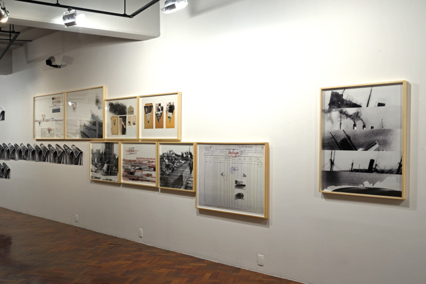 Navio de emigrantes   Emigrant ship, Caixa Cultural São Paulo [2019] Photo: Wilton Montenegro