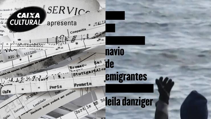 Navio de emigrantes | Caixa Cultural Brasília 30 out - 23 dez 2018