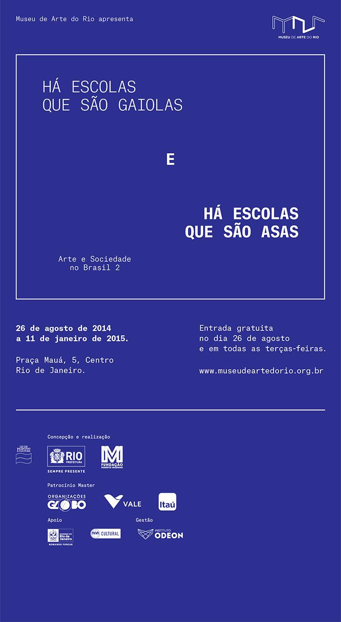 Até 11 de janeiro de 2015_ Museu de Arte do Rio