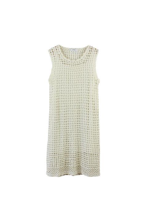 שמלת קרושה לבנה | M