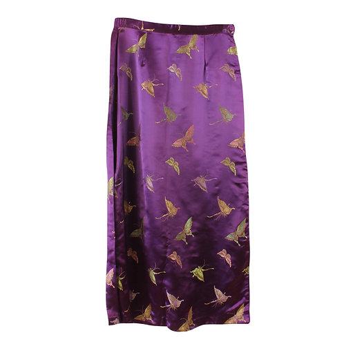 M | חצאית קימונו וינטג׳