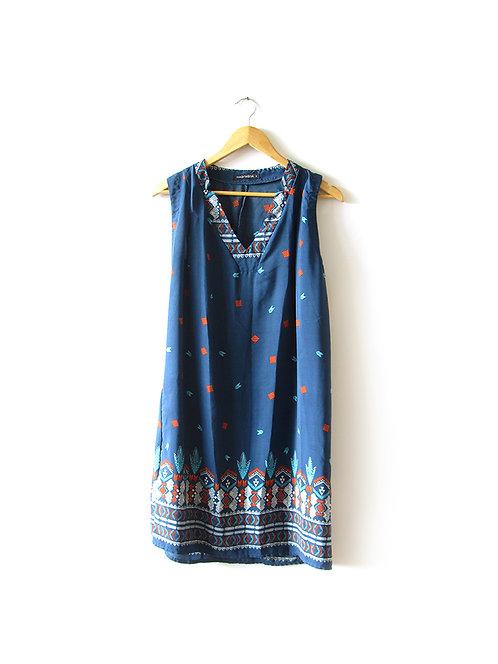 שמלה כחולה חגית טסה מידה 3