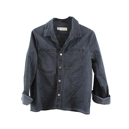 L | anjaly חולצת ג׳ינס אפור